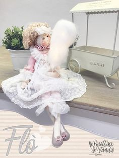 Doll Toys, Art Dolls, Diy And Crafts, Flower Girl Dresses, Teddy Bear, Tulle, Google, Easy Kids Crafts, Easy Crafts
