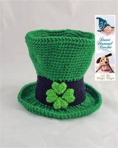 St Patricks Day Crochet on Pinterest Leprechaun, Crochet ...