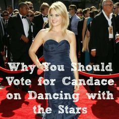 why you should vote for candace cameron bure on dwts... @Amy Delmanto {Some of the Best Things in Life Are Mistakes}