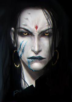Inspiration for Gurteus! Probably my favorite villain from volume 1. #MetalShadow bitter joy by *anndr on deviantART