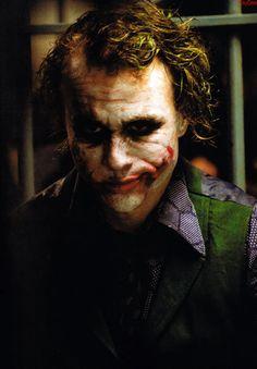 Heath Ledger as the Joker Der Joker, Joker Dc, Joker And Harley Quinn, Heath Legder, Heath Ledger Joker, Joker Film, Dc Comics, Marvel Tattoos, Guys Thoughts