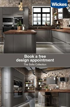Your dream. Our experts. From design to installation plus all the finishing touches, we have everything you need to create your new kitchen. Book a free design appointment today New Kitchen, Kitchen Decor, Kitchen Design, Hm Home, Sustainable Design, Free Design, Design Art, Interior Design Living Room, Kitchen Remodel