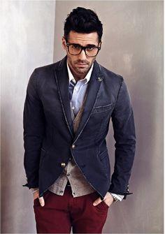 men's fashion & style: layering