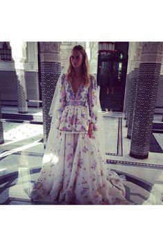 Hippie Hochzeit Marroco