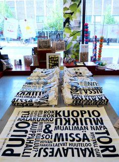 Keittiöpyyhkeet, Ateljee Keltainen Talo Finland, Norway, Sweden, Europe, Shop, Design, Store