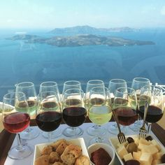 Wine tasting in #Santorini #SantoWine Photo credits: @chasingwanderlustph