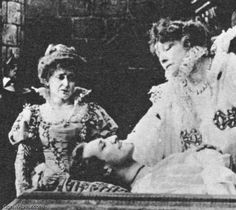 In 1912, Sarah Bernhardt made Queen Elizabeth in Britain. The receipts from this film's distribution in the US provided Adolph Zukor with the funds to found Paramount.