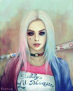 Harley Quinn art❤️