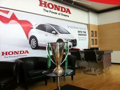 Universal Honda Showroom (complete with Heineken Cup! Honda Cars, Car Ins, Dublin, Showroom, Heineken, Fashion Showroom