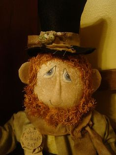 another st patricks leprechaun doll......