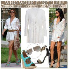 Who Wore It Better Jennifer Lopez or Selena Gomez