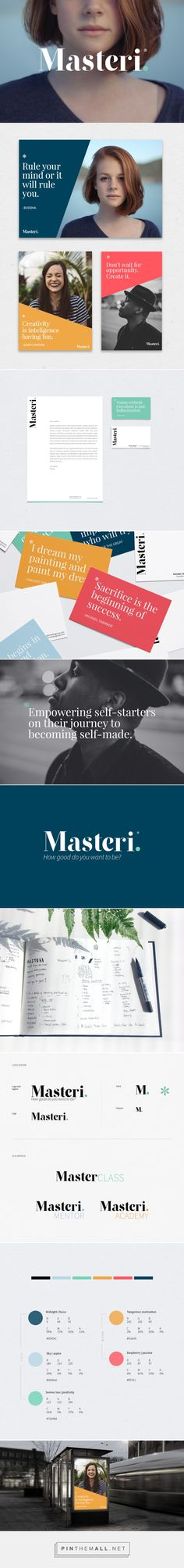 Masteri - branding & brand identity by Marssaié