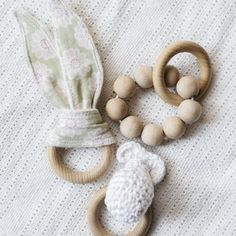 Learn how to make these wooden teething toys.
