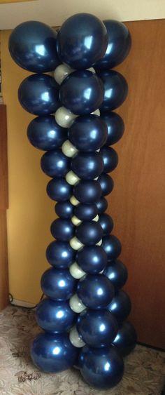 A different shape balloon column