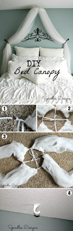 Bedroom Decorating Ideas For Your Master Bedroom - How To Hygge - Ideas of How To Hygge - Hygge is the Danish way of life of finding the coziness in simple things. It means cuddling up in a bed in a kit blanket with a cup of tea Diy Décoration, Easy Diy Crafts, Easy Home Decor, Cheap Home Decor, Cozy Bedroom, Girls Bedroom, Bedroom Modern, Girs Bedroom Ideas, Bedroom Ideas For Women