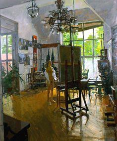 The Royal Institute of Oil Painters by Ken Howard Ken Howard, Artists And Models, Royal College Of Art, Korean Painting, City Art, My Art Studio, Figure Painting, Erotic Art, Abstract Art