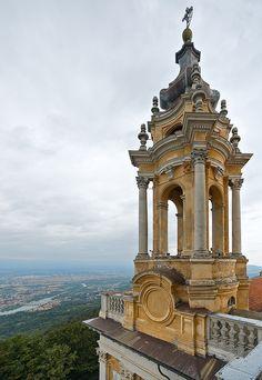 Tower | Basilica de Superga, Turin, Italy