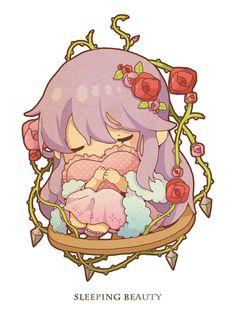 Sleeping Beauty - http://www.pixiv.net/member_illust.php?id=5335504