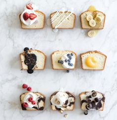 Happy National Pound Cake Day! Here are nine of our very favorite pound cake toppings.