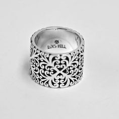 Lois Hill Geometric Flat Cigar Band Ring - Cut Out - SOLD OUT $168