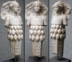 De  Artemis uit het Antiken Museum in Basel.