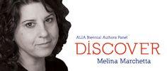 Author Melina Marchetta ALIA conference.