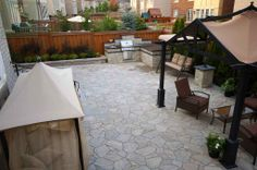 #flagstone #landscaping #outdoorkitchen