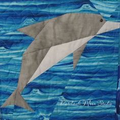 Dolphin quilt (1)