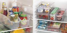 Ideas para organizar la cocina. Tanto en el frigorífico como en el congelador es necesario contar con organizadores.