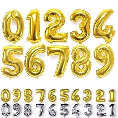 "40"" Birthday Wedding DéCor Number 0-9 Giant Foil Ballon Party Supplies"