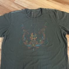 Men's True Religion world Tour T-shirt size XL Awesome men's true religion world tour T-shirt 100% cotton. Size extra large sort of looks like a Grateful Dead T-shirt. Excellent condition, no holes stains or tears. Supersoft True Religion Tops Tees - Short Sleeve