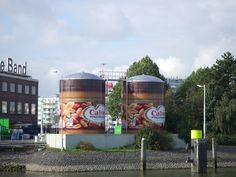 Pindakaaspotten Unileverterrein Nassauhaven