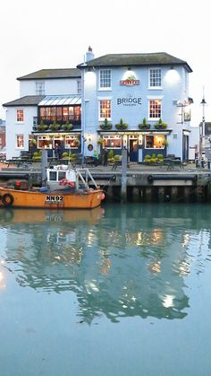 Bridge Tavern, Portsmouth, England.