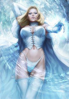 Emma Frost by `Artgerm on deviantART