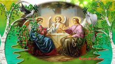 Красивое, нежное поздравление с праздником Троицы