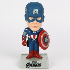 Official Avengers Movie- Captain America 7-Inch Bobblehead