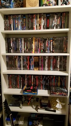 I spent my Saturday building some simple shelving for my DVD/Blu-ray collection http://ift.tt/2elsQd4