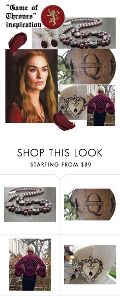 """""""""""Game of Thrones"""" inspiration"""" by varivodamar ❤ liked on Polyvore featuring modern"""