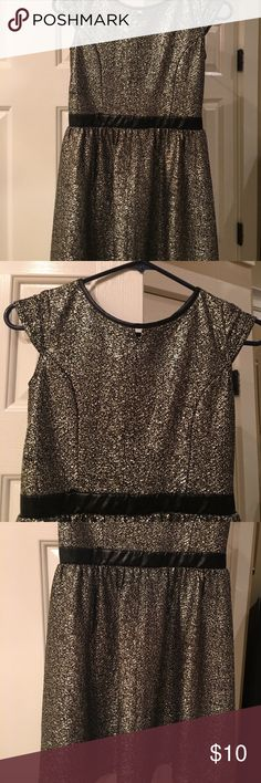 Girls Dress Girls black and silver dress. One piece dress. Size Large 10/12 Xhilaration Dresses Casual