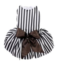 Puppy Dog Dresses,Lillypet® Dog Stripe Gauze Skirt Vest Sundress Clothes Apparel *** Trust me, this is great! Click the image. : dog clothes