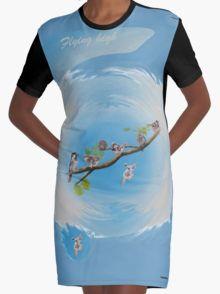 Flying high Graphic T-Shirt Dress