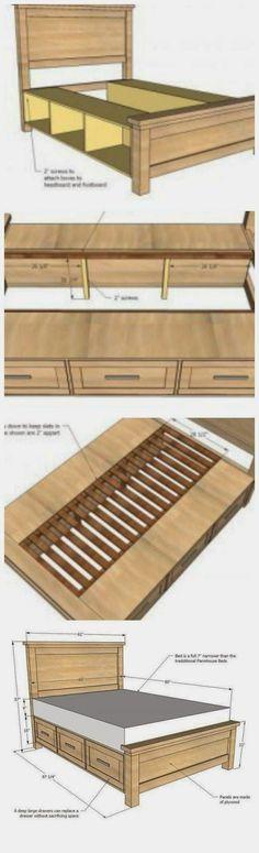 Storage Bed: