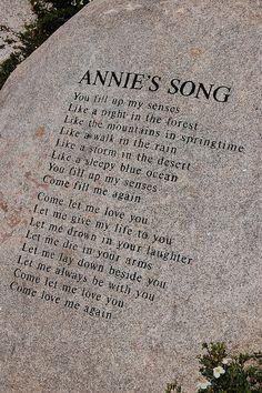 Annie's Song by AZBump, via Flickr - Aspen John Denver Sanctuary