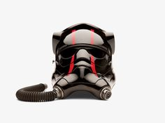 <em>Star Wars: The Force Awakens'</em> Arsenal of Epic Battle Props | Special Forces TIE fighter pilot helmet | Credit: ©LUCASFILM 2015 | From Wired.com