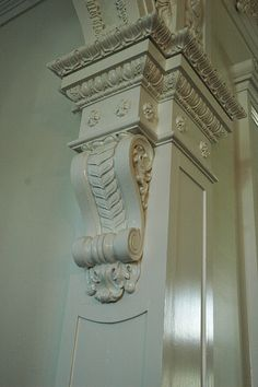 A detail from Nottoway Plantation ~Grand Mansions, Castles & Luxury Homes