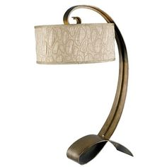 Kenroy Home Remy Table Lamp in Smoked Bronze