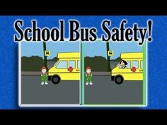 School Bus Safety! | learning video for children - YouTube Elementary School Counselor, School Counseling, Elementary Schools, Safety Week, Safety Rules, First Day Of School, Back To School, School Bus Safety, First Grade Classroom