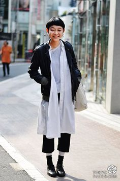 Tokyo Faces : Style up with Comme des Garçons