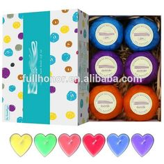 lavender Oil colorful bath Bombs/Flower Handmade Organic Bath Bombs