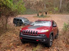 2014 Jeep® Cherokee: Same Name, but Gentler in Attitude. I got the Trailhawk with a 4 cylinder. Jeep Cherokee Trailhawk, Jeep Suv, Jeep Wranglers, Car Mods, Jeep Life, Dream Cars, Attitude, Trucks, Vehicles